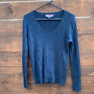 Vineyard Vines Blue Long Sleeve Sweater